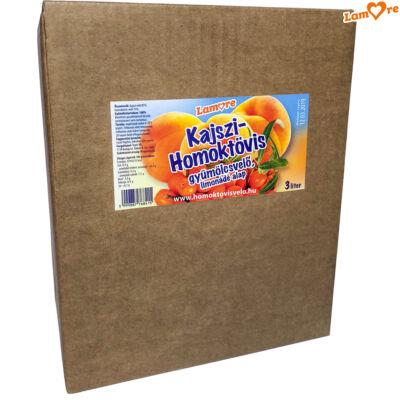 Kajszi - Homoktövis gyümölcsvelő – 3 liter