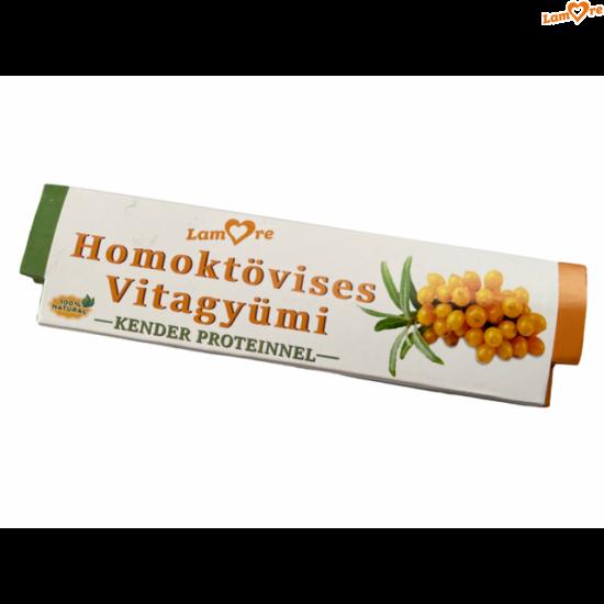 Homoktövises Vitagyümi-szelet-kender-proteinnel-30 gr